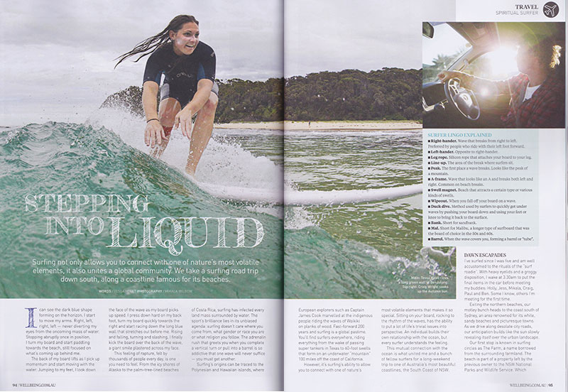 shesurfs.com.au Wellbeing magazine - Stepping into liquid pg1