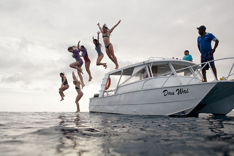 shesurfs.com.au - Mikala Wilbow - lifestyle photographer - fiji girls surf trip - Fiji Waidroka boat jump
