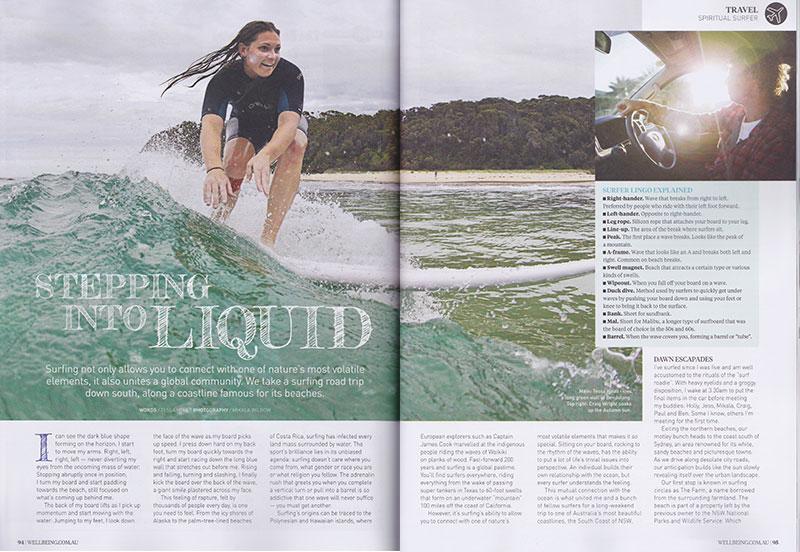 shesurfs.com.au Wellbeing magazine - Stepping into liquid pg1