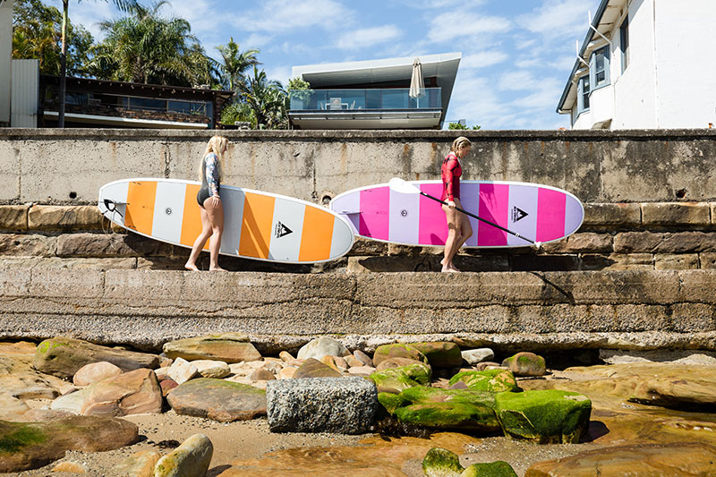 shesurfs.com.au - Mikala Wilbow - Global Surf Industries - Adventure sup girls