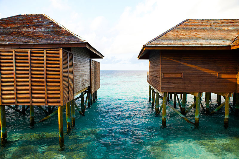 shesurfs.com.au - Mikala Wilbow - surf photographer - Maldives huts